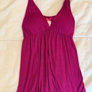 Forever 21 Flowy Cotton Tank With Twisted Ties